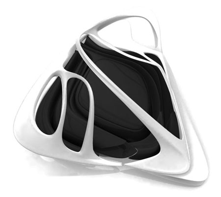 lotus room by zaha hadid