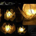 Lotus Lamp : Lighting Design Inspired by Nature