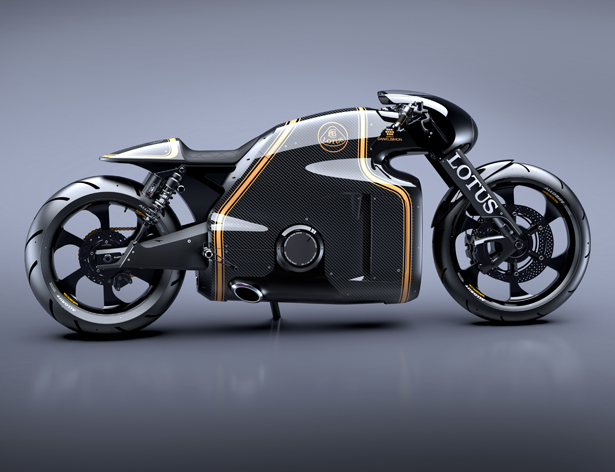 Lotus C-01 Motorcycle Roady Ready by Daniel Simon