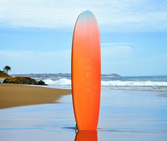 Louis Vuitton Teamed Up with Alex Israel to Design Surf-On-The-Beach Board