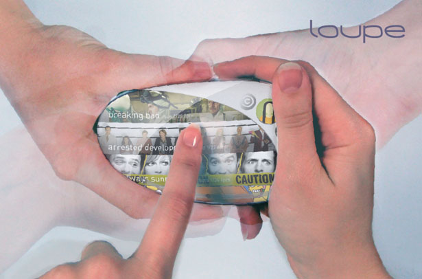 Loupe Concept Remote Control by Beata Patasiute and Sarah Gao