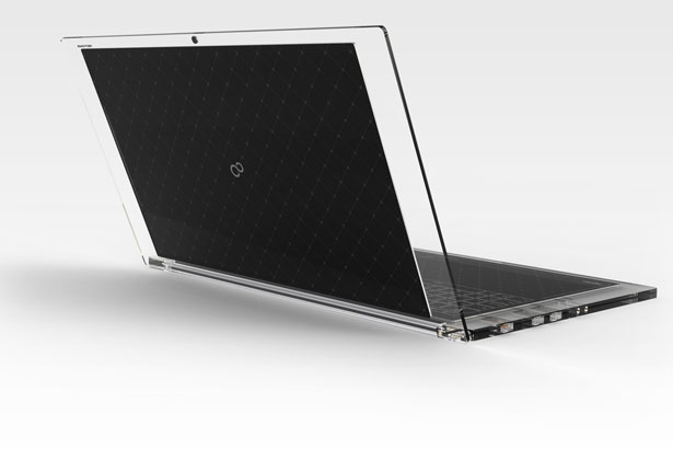 Luce Solar Panel Powered Laptop PC