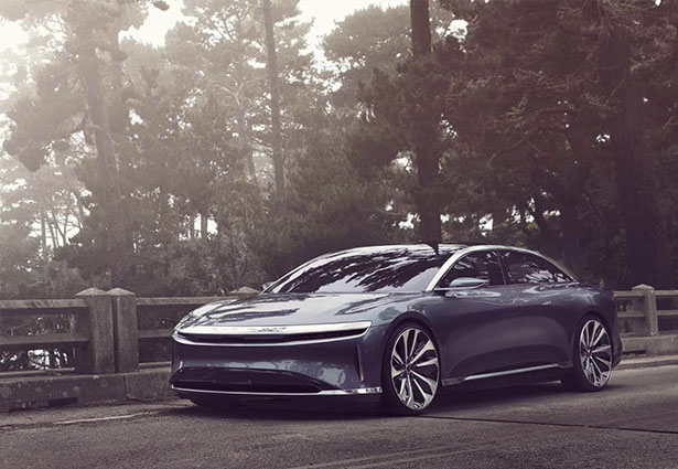 Lucid Air To Be The Fastest Charging Electric Car