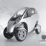 Lumeneo Smera Car Concept : Combination of Car and Motorcycle