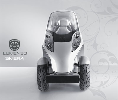 lumeneo smera electric vehicle