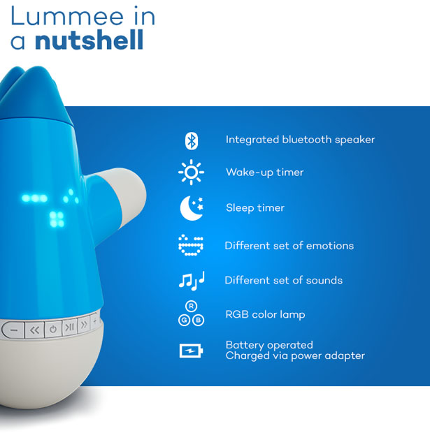 Lummee Interactive Child-Friendly Toy