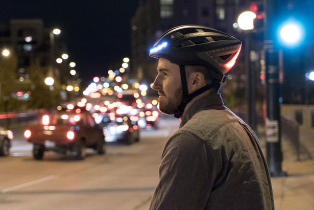 Lumos Smart Bike Helmet with Wireless Turn Signal