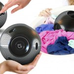 Luna Washing Ball Cleans Your Clothes from Laundry Basket