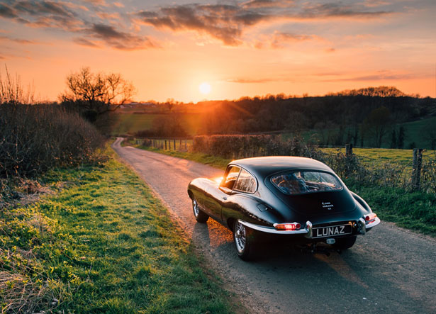 The Future of Classic Electric Car by Lunaz Design