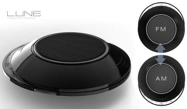 Lune Pocket Radio Features Classic Design with Modern Twist