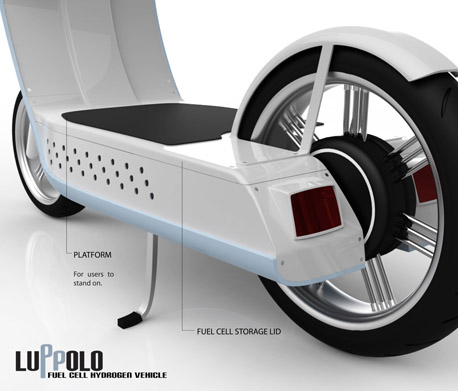 Luppolo Fuel Cell Hydrogen Vehicle