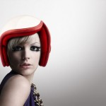 Luxy Vespa Helmet Features Retro Modern Design for Women Riders