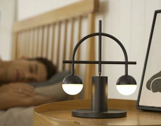 Lybra Balance Lamp Always Restores Its Balance and Stands Upright