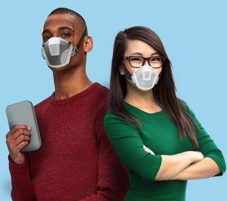 M-101 Modular Protective Mask Fits to Different Types Of Face Shapes