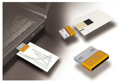 Business card and memory storage m card tuvie m business card reheart Gallery