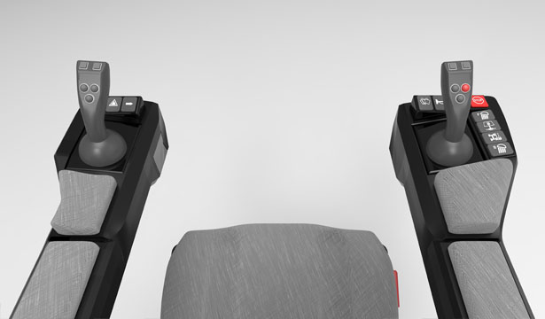 M Series Operator Seats by Mete İçenler