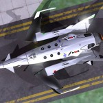 "M2G ""White Bat"" Space Business Craft for Space Tourism"