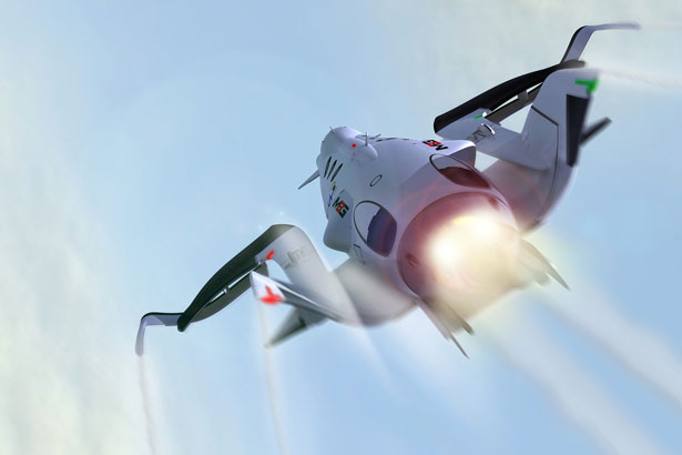 """M2G """"White Bat"""" Space Business Craft for Space Tourism"""