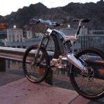 The Beast Hybrid Electric Bike by M55