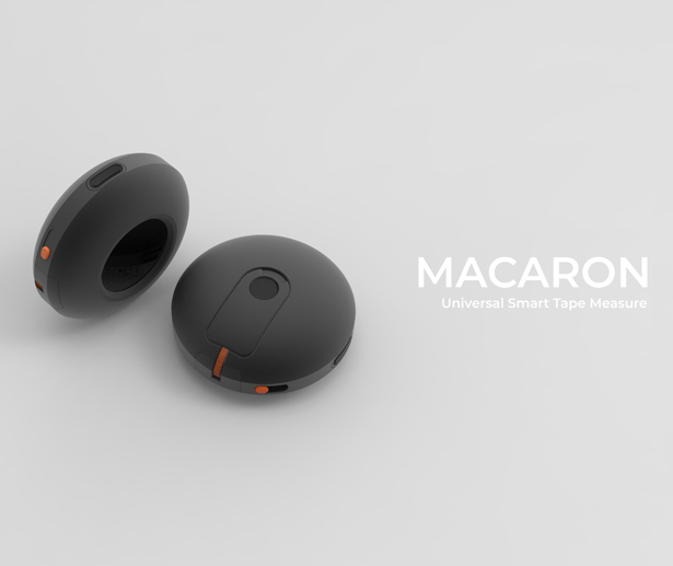 Macaron Universal Access Smart Tape Measure by Oseyeris