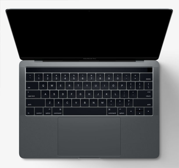 MacBook Pro Laptop with Touch Bar