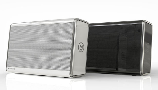 Macrom Bluetooth Speaker M-BTP50 by Massimo Battaglia