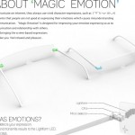 Magic Emotion Concept Eyewear Helps You Expressing Your Emotions For Better Communication