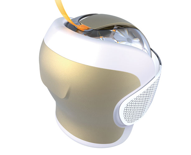 Magnetic Resonance Helmet Features 500 Sensors for Better Spatial Resolution and Built-In Entertainment Function For The Patient