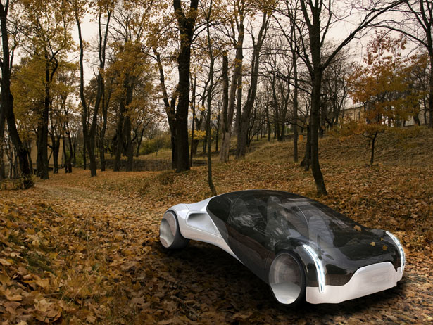 Maininki Concept Car Was Inspired by A Swell and A Drop Of Water