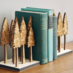 Majestic Forest Bookends by Stephen Truong