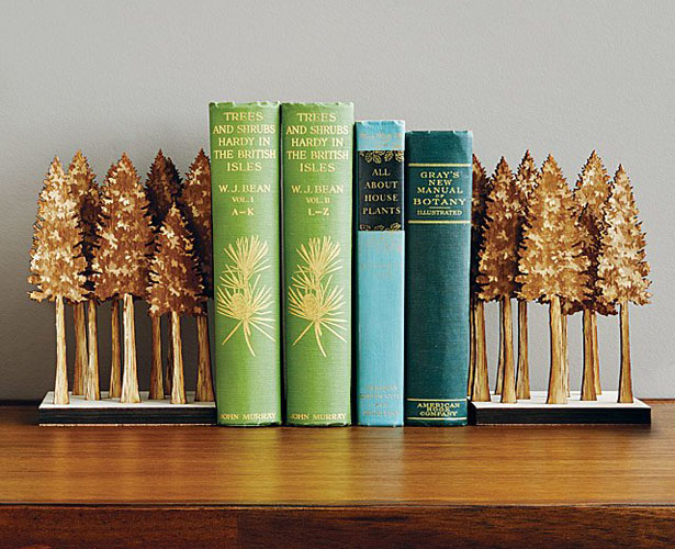 Cool Majestic Forest Bookends by Steven Truong