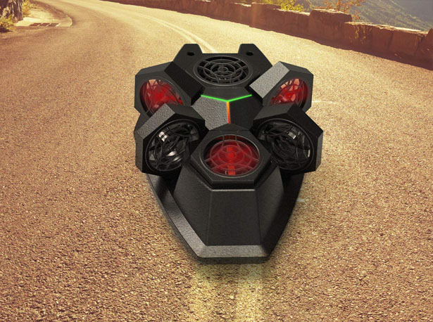 Makeblock Airblock Transformable Drone to Hovercraft Robot
