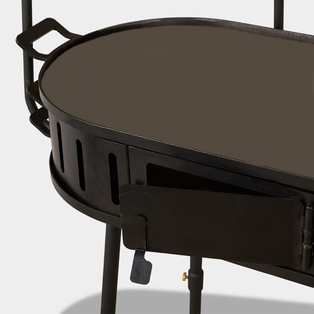 Mallmann's Grill - Multi-level Outdoor Grill by Best Made Company