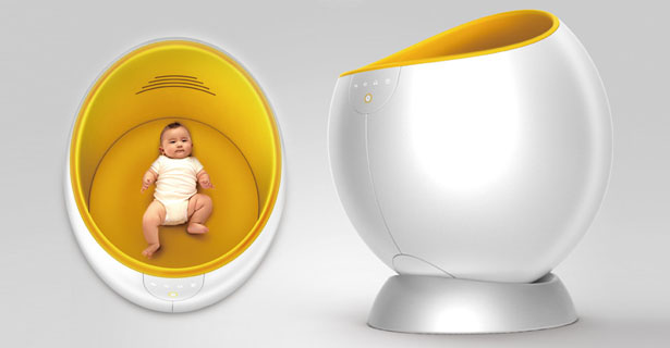 Mama's Heart Baby Crib Concept by Chen Liming