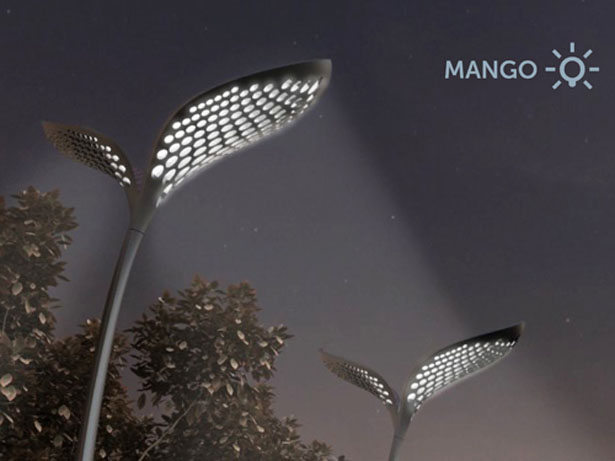 Mango Street Lamp by Adam Miklosi