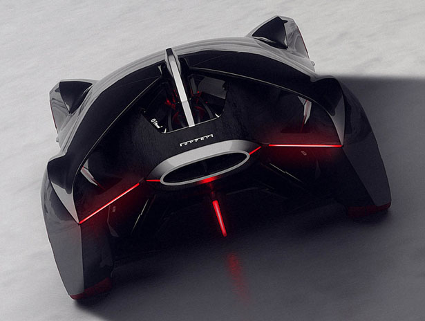 Manifesto Concept Car Won Ferrari Top Design School Challenge 2015