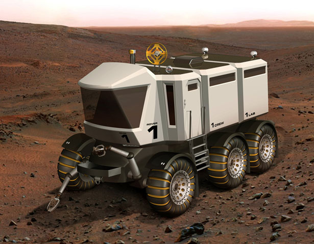 Manned Mars Expedition Rover Design Proposal for Future Mission to Mars in 2037