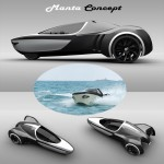Manta Amphibious Electric Vehicle by David Cardoso Loureiro