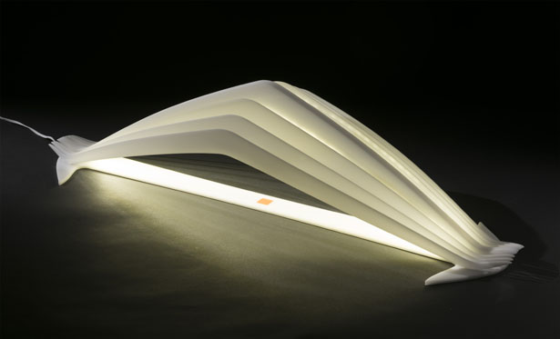 Manta Sculptural Interior Lamp by Leonardo Criolani