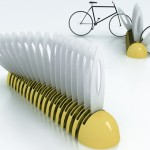 Marguerite Bike Parking Rack for Urban Environment