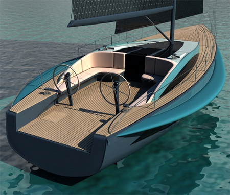 MARLIN Yacht by Demetrius Tanase : A Bridge between Nature and Mankind