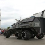 Futuristic Mars Rover Concept Vehicle : The Next Generation of Space Explorers