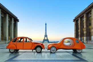 Citroën eCV Concept Car Is an Attempt to Bring Iconic Citroën 2CV Into The 21th Century