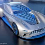 Futuristic Maserati Genesi Autonomous Car Concept with VR Technology