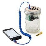 You Don't Have To Be a Hipster to Love This Mason Jar Speaker and Amplifier