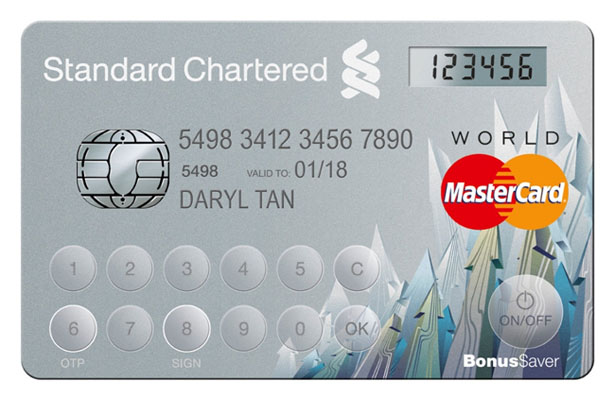 MasterCard with Display Card Technology
