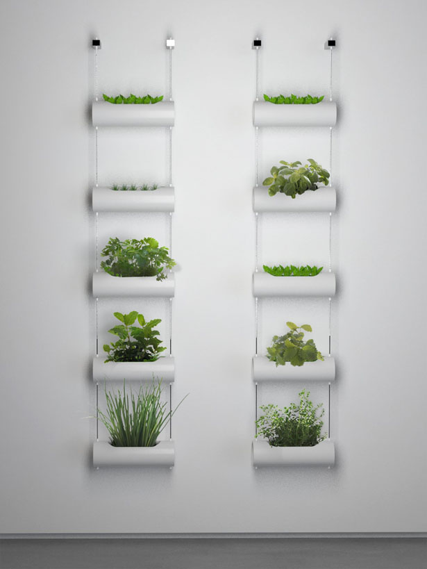 Matic indoor farm vertical vases for your mini indoor for Jardin indoor