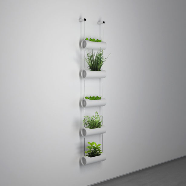 Matic Indoor Farm : Vertical Vases for Your Mini Indoor Garden