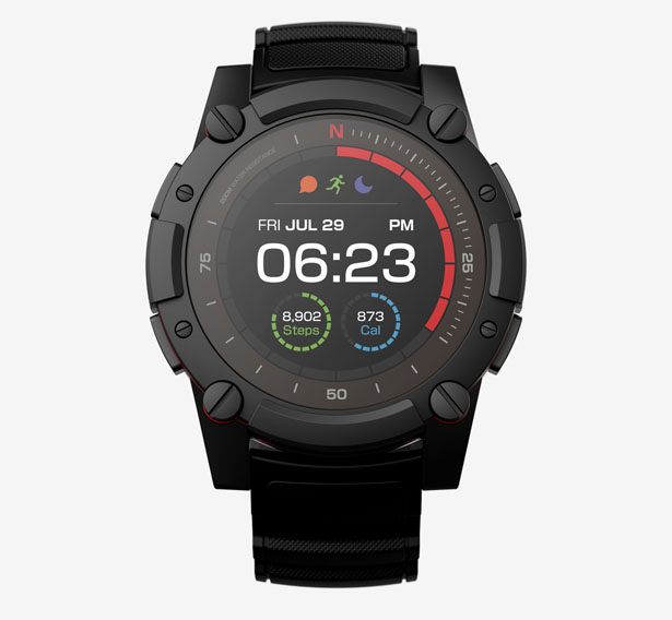 Matrix powerwatch 2 with advanced energy harvesting technology tuvie for Matrix powerwatch