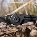 Maxeri Military-Style Small Tactical Pocket Knife with Premium Stainless Steel Blade